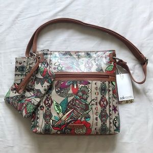 Sakroots Crossbody, Wristlet, and Card Hol…
